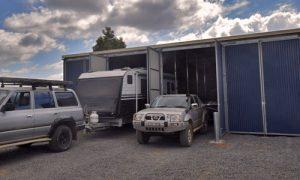 full height caravan storage