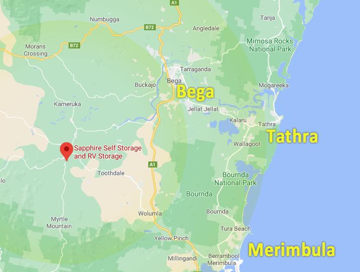 Map Storage location